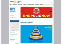 Colombian Rotary Club launches website