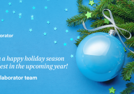 Season's greetings from our team!